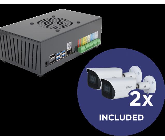 Kit - ODS Lite + 2x Bullet Camera IP Dahua IPC-HFW3441E-SA